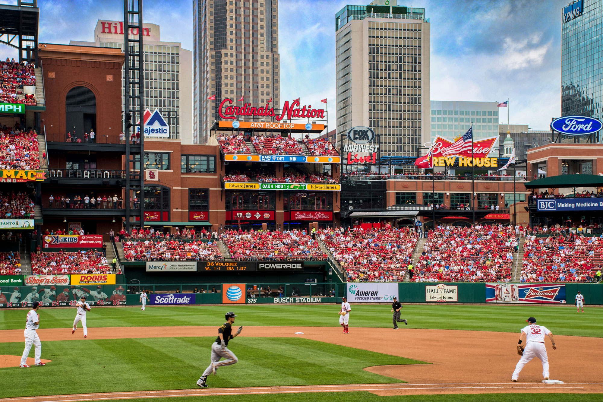 Ballpark Village will have a new way to see baseball games by 2020