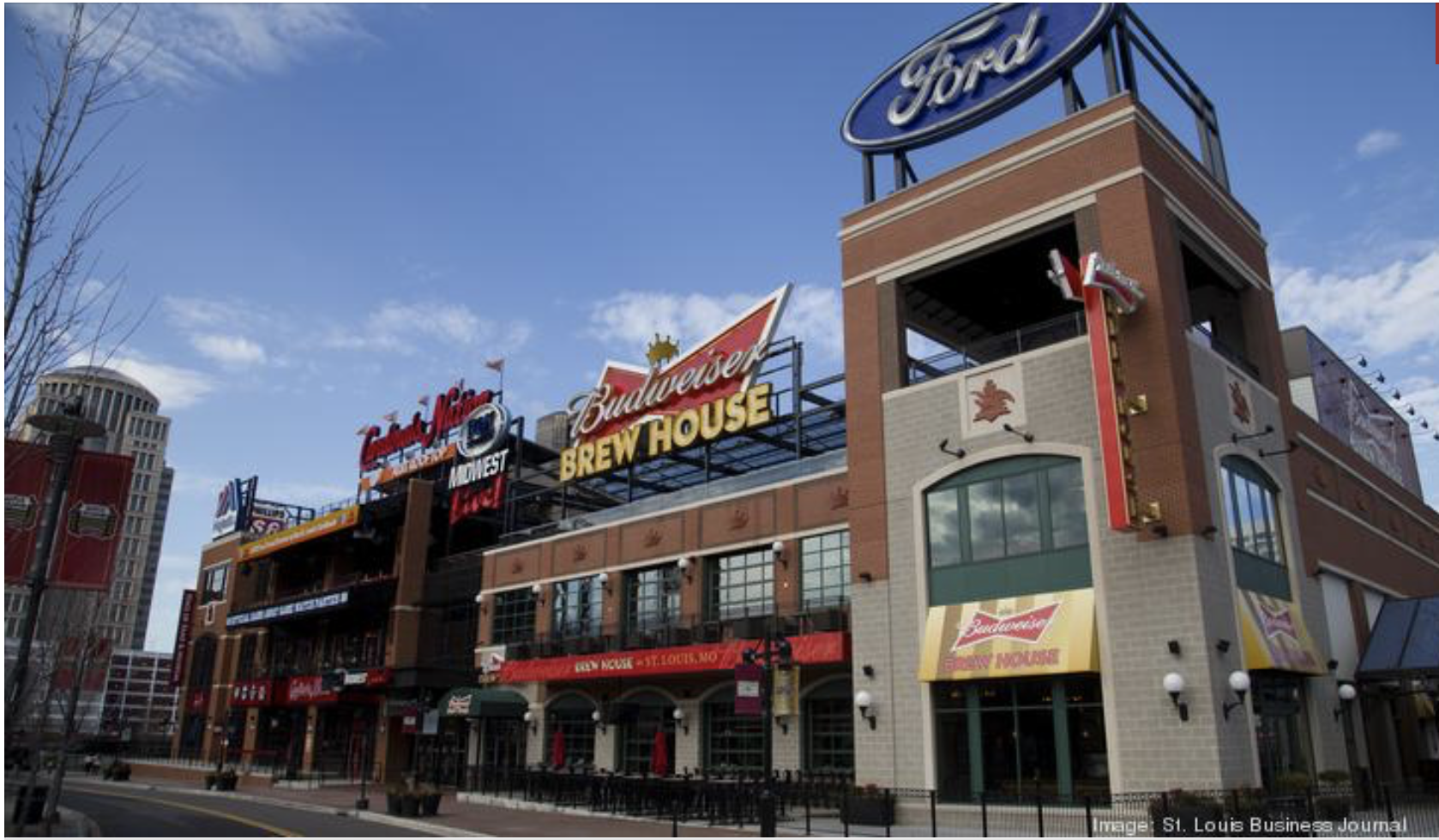 Ballpark Village finalist for global excellence award