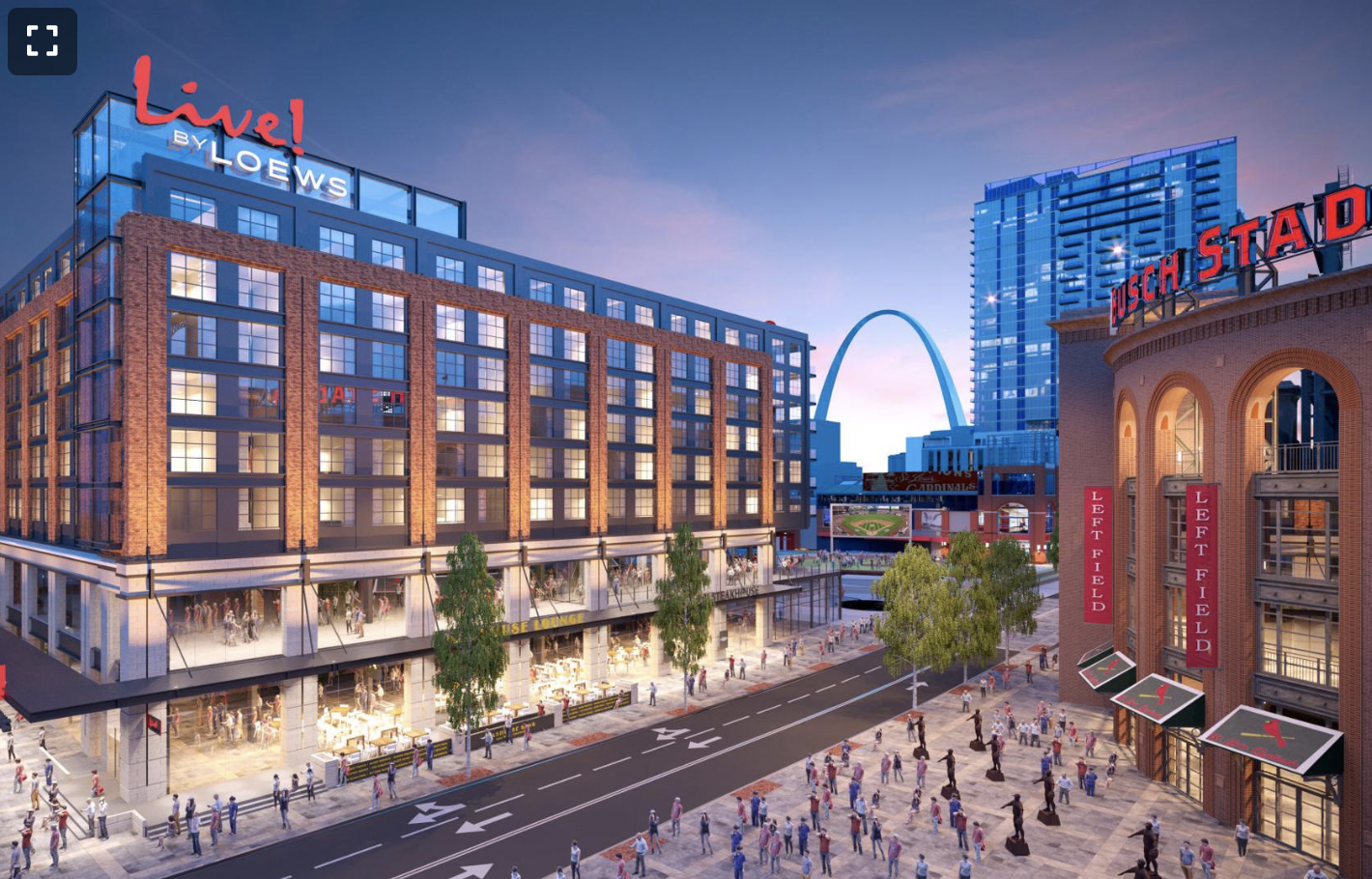 Ballpark Village begins construction of $65 million hotel