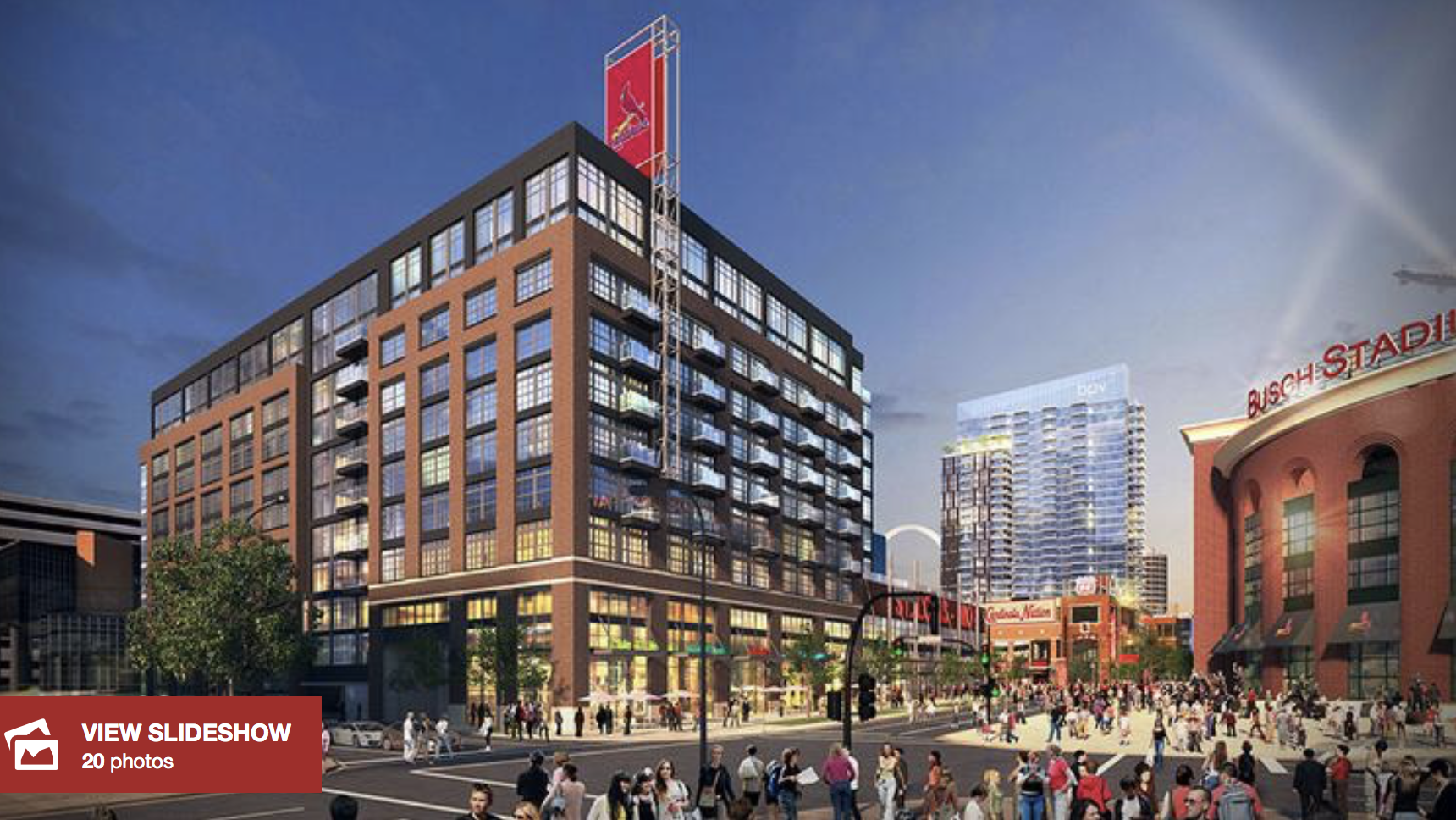 Watch time-lapse video of Ballpark Village phase two construction