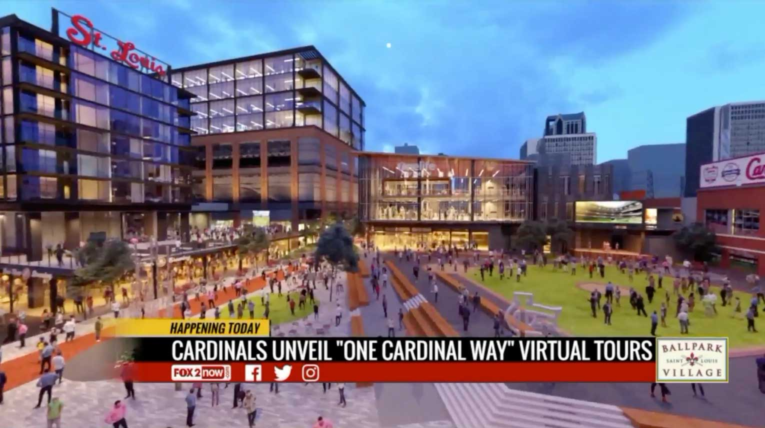 Take a virtual tour of Ballpark Village's $260 million expansion