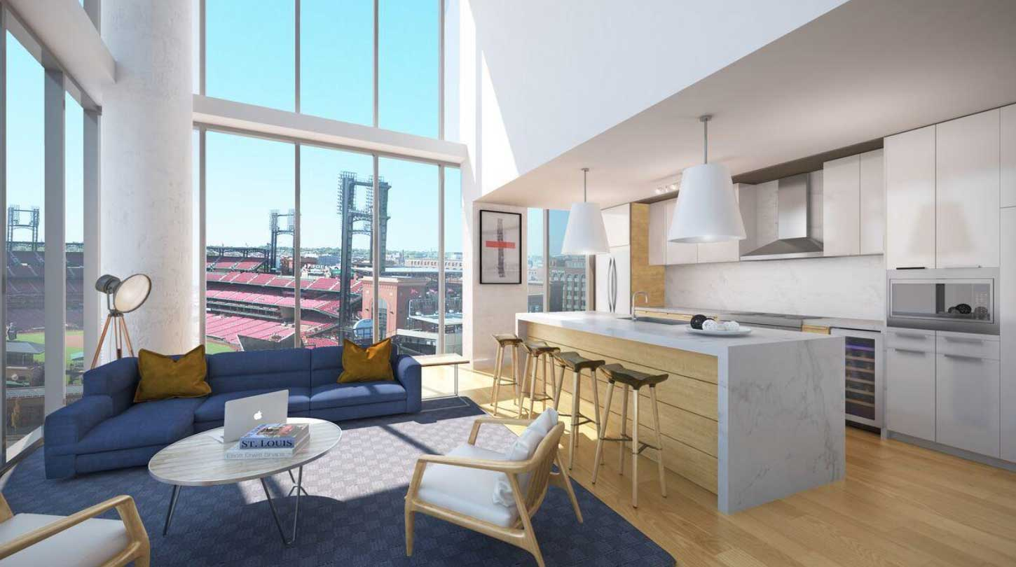 New virtual tour unveiled for luxury Ballpark Village apartments
