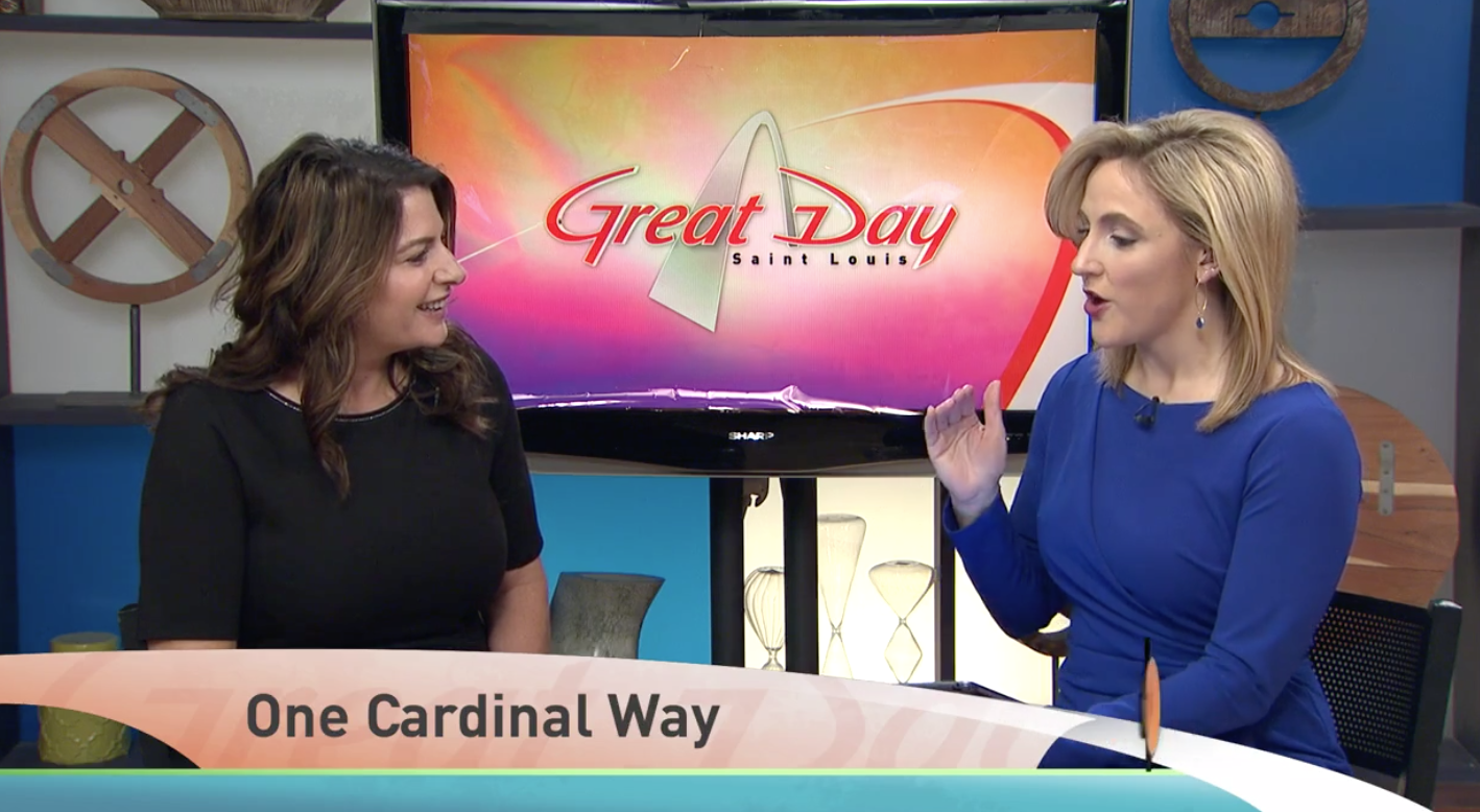 One Cardinal Way on Great Day STL