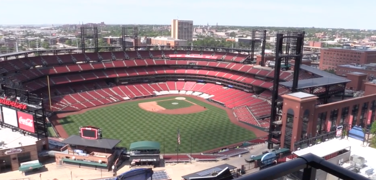Downtown apartments could have the closest view of cardinals baseball this year