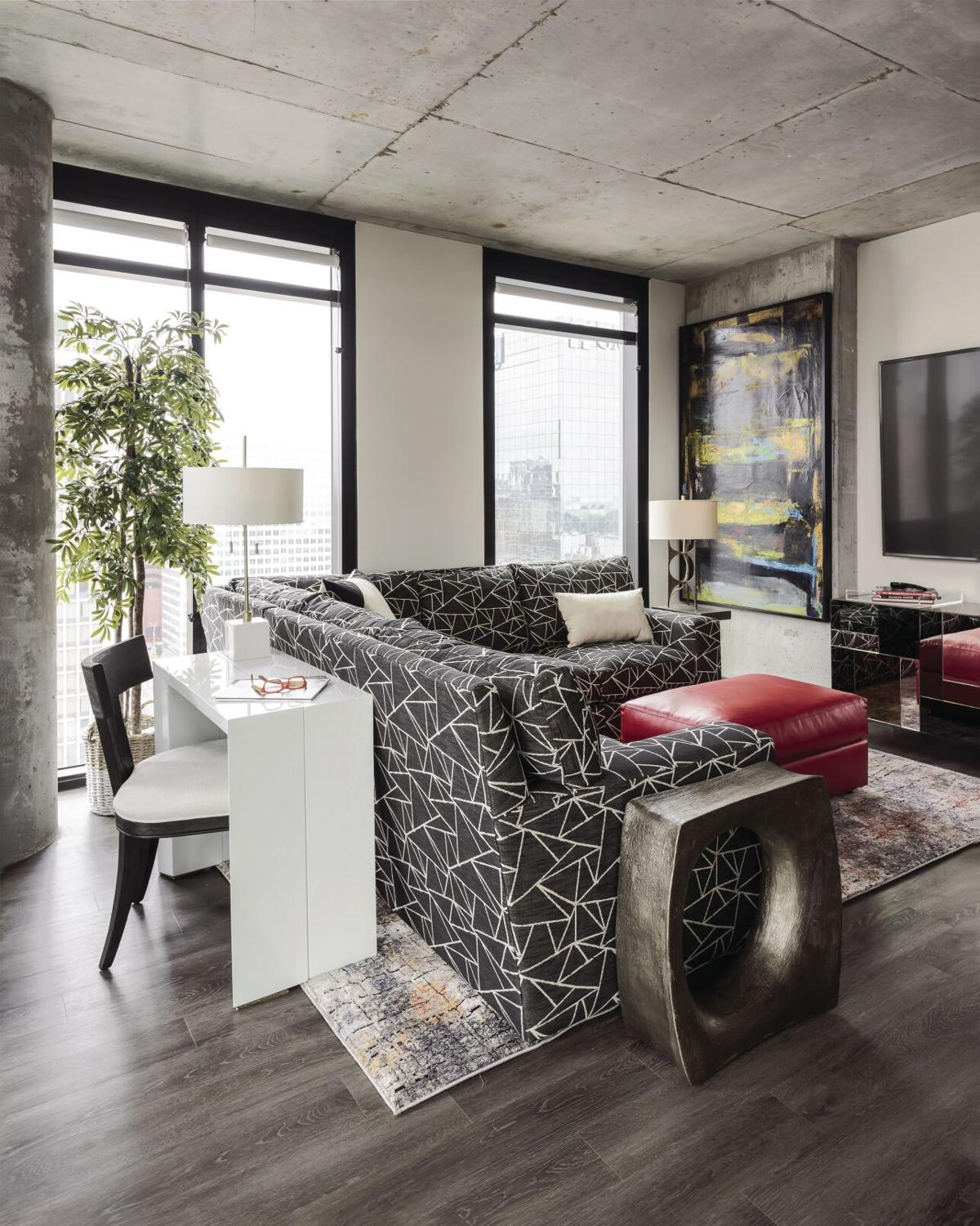 A Work of Art: Luxury Apartment Interior Design by Marcia Moore Showcases Personal Art Collection